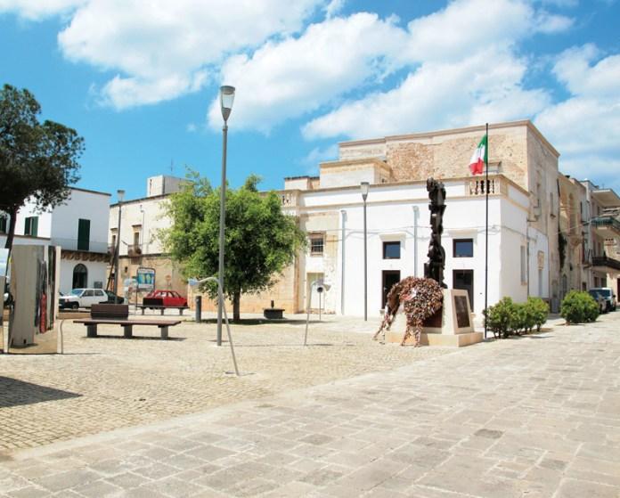 Piazza Municipio Alliste