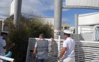 Foto Guardia costiera - Sigilli a Porto Cesareo