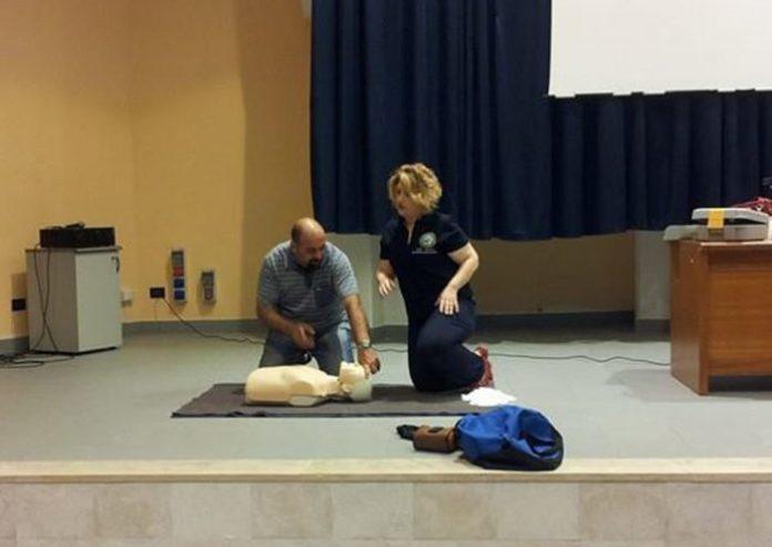 corso neviano defibrillatori