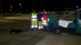Intervento a Mancaversa protezione civile Taviano - temporale 1.09.2014