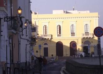 Gallipoli, il lungomare del centro storico