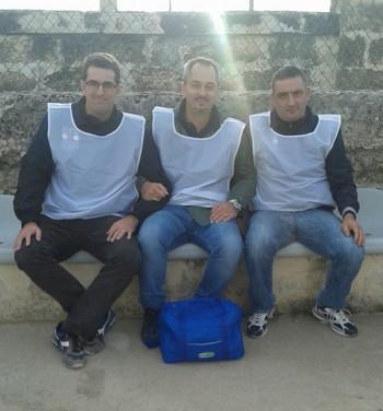 Gruppo Emergenza Salento al campo 5 ottobre 2014  (al centro il presidente  Davide Arnoldi) parabita