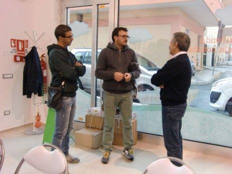 Roberto Rocca (al centro)