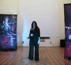 L'artista Paola Marzano