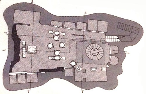 Pianta frantoio ipogeo di Piazza San Sebastiano