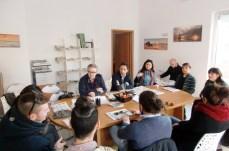 Danilo Scorrano, Anna De Matteis, Andrea Cavalera, Nadia Marra col direttore