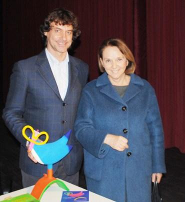 Alberto Angela e Gabriella Torsello