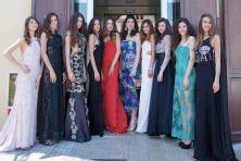 Le finaliste di Miss Mondo Model (a sinistra Valeria Gaggiano)