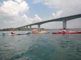 Mar Piccolo in avvicinamento al ponte di Punta Penna