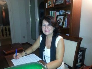 la dirigente Antonella Cazzato