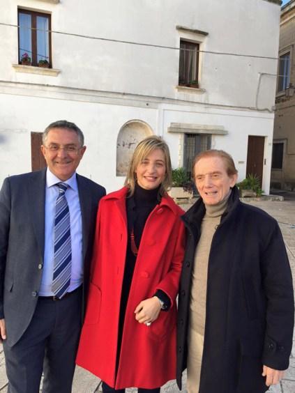 Francesco Pacella, Alessia Ferreri e Osvaldo Bevilacqua