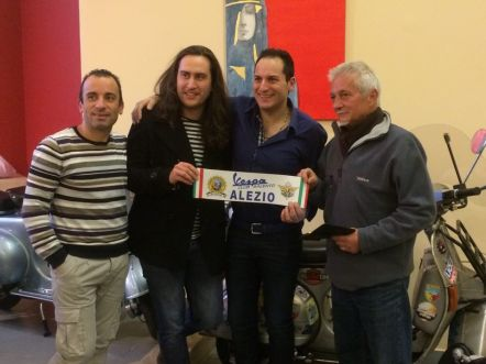 Luigi Magagnino, Davide Leopizzi, Antonio Magagnino, Stefano Medvedich