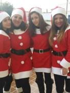 """Con la """"Band di Babbo Natale"""" (seconda da destra)"""