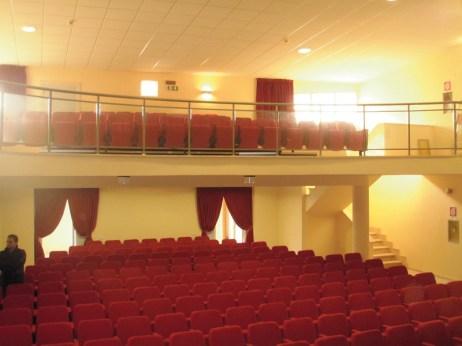 La platea del teatro comunale