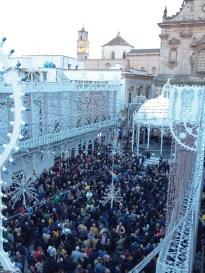 luminarie dall'alto piazza Costadura (2)