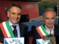 I sindaci Riccardo Monsellato e Francesco Ferraro