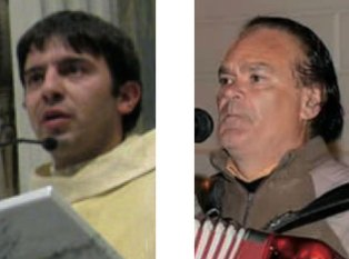 """Don Antonio Perrone e Vito Turco dei """"Pizzicati"""""""