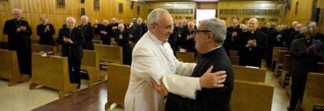 Papa Francesco e monsignor Angelo De Donatis