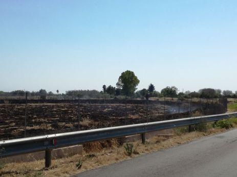 Vora Casarano, incendio (3)