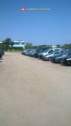 Porto Cesareo, l'area parcheggio sequestrata (4)