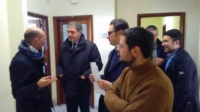 Il sindaco Gianni Stefano in Regione