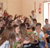 Liceo Vanini - la dirigente Attanasi e l'accoglienza delle prime classi ..._2