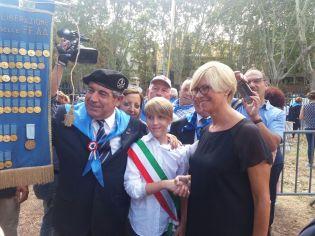 Pasquale De Ronaldis di Matino con il ministro Poletti