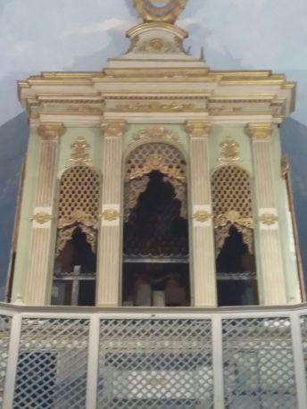 L'organo della Chiesa del Crocifisso dopo il furto