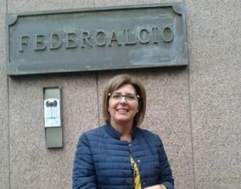 Luana De Mitri, delegato Figc Lecce