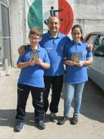 Presidente Stanca con Ambra e Matteo