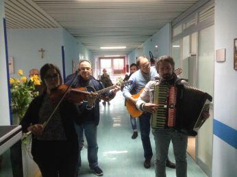 Musica nel reparto di oncologia (1)