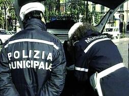 Polizia municipale (foto d'archivio)