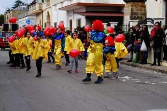 Il gruppo della parrocchia al Carnevale di Corsano