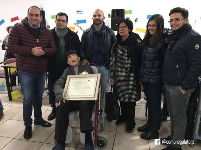 I 100 anni di Benvenuto Rizzo