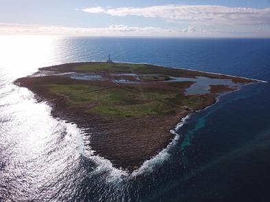 L'isola di Sant'Andrea nella foto di Alessandro Magni