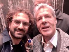 Gianpiero Pisanello e Claudio Baglioni