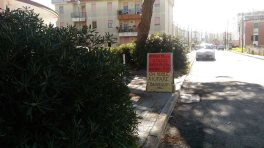 Via Gobetti, area del raduno