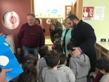 sindaco mellone e patron durante con i bambini