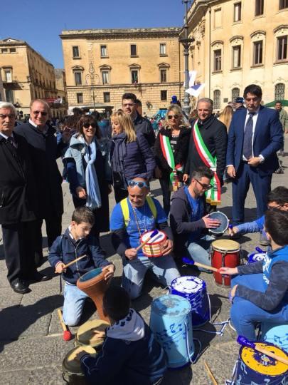 Il Live drum circle a Lecce