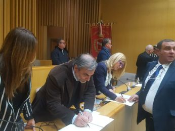 Consiglio comunale Alessano Molfetta