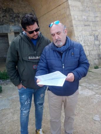 Mino Nazaro (a destra)