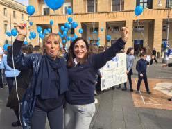 Il flash mob del 2017 a Lecce