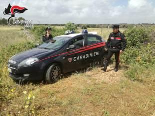 Carabinieri a Specchia