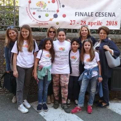 Aradeo, alunni e docenti delle Olimpiadi di Problem solving