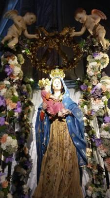 Parabita, il simulacro della Madonna della Coltura