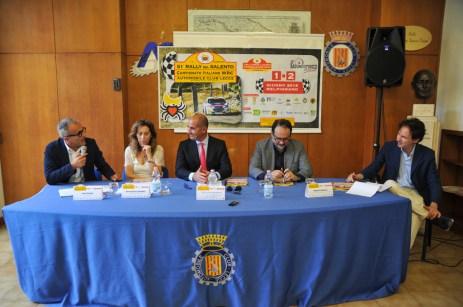 Rally del Salento conferenza stampa di presentazione (foto L. De Marianis)