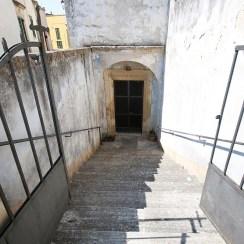 San cassiano, la cripta della Madonna della consolazione