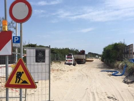 litoranea sud ultimi lavori Baia verde Gallipoli