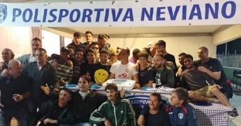 Polisportiva Neviano, la festa per la promozione