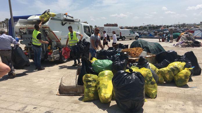 rifiuti raccolta straordinaria Porto Cesareo